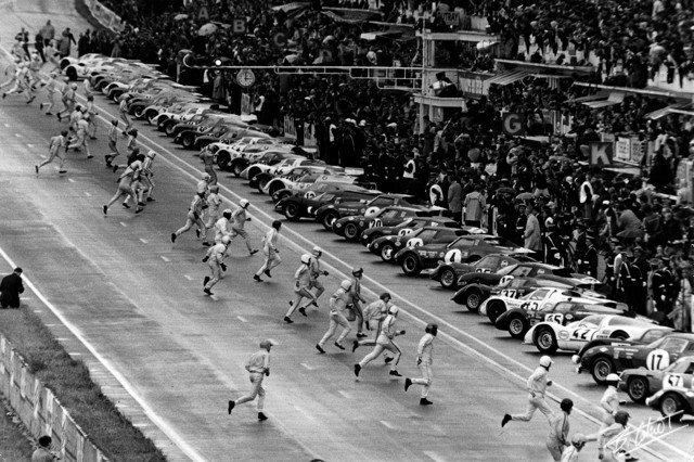 The Cahier Archive Photo Start 1968 Lemans 01 Bc Event Lemans Year 1968 2