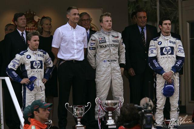 2005-ben ezen a napon nyerte meg Kimi a Monacói Nagydíjat!